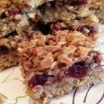 Cranberry Brown Sugar Oat Bars Recipe