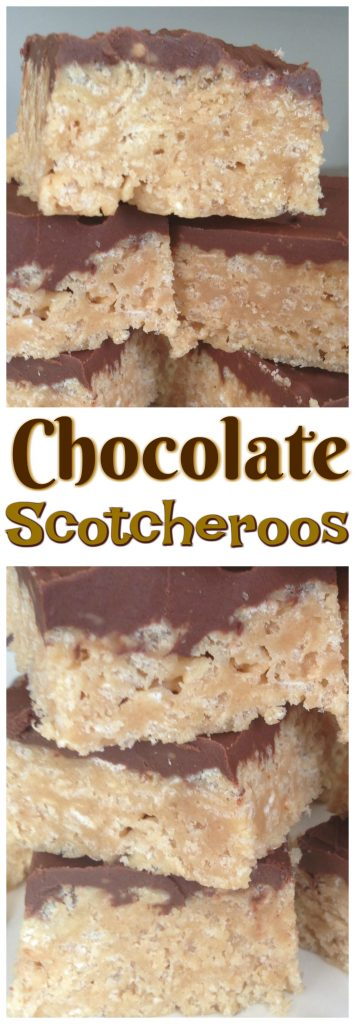 Chocolate Scotcheroos pin 1