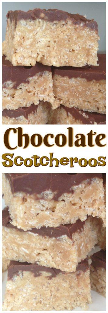 Chocolate Scotcheroos pin 1