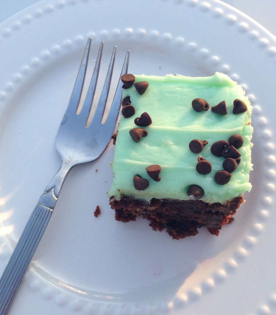 mint brownies 7