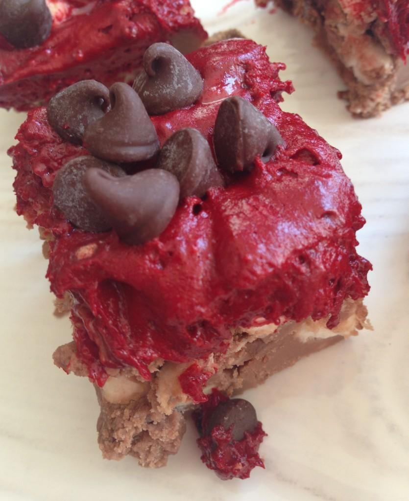 red velvet fudge 6