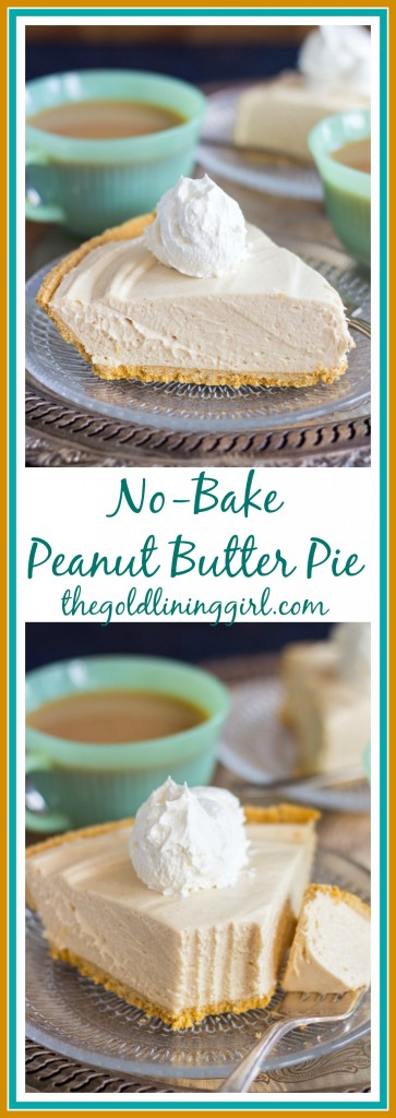 No Bake Peanut Butter Pie pin