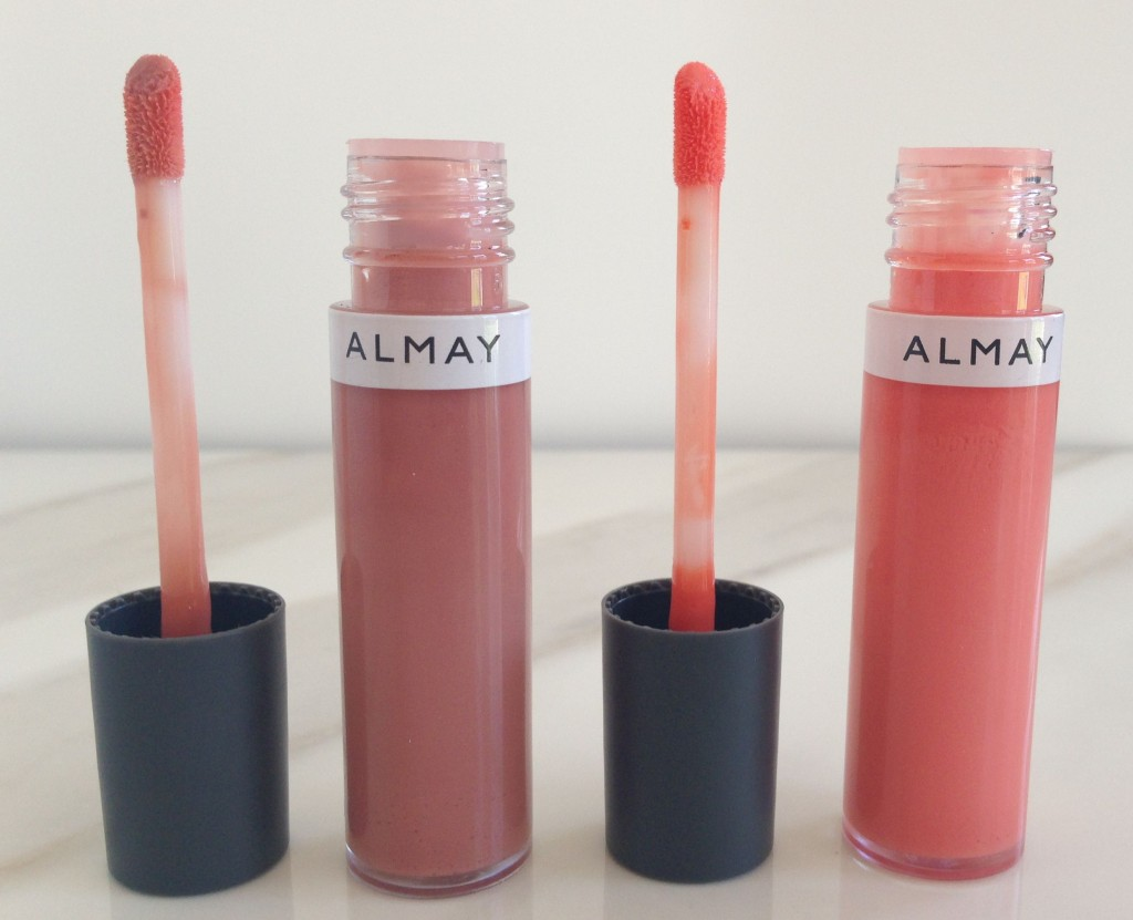 almay liquid lip balms