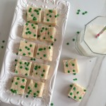 No-Bake Cake Batter White Chocolate Fudge Recipe