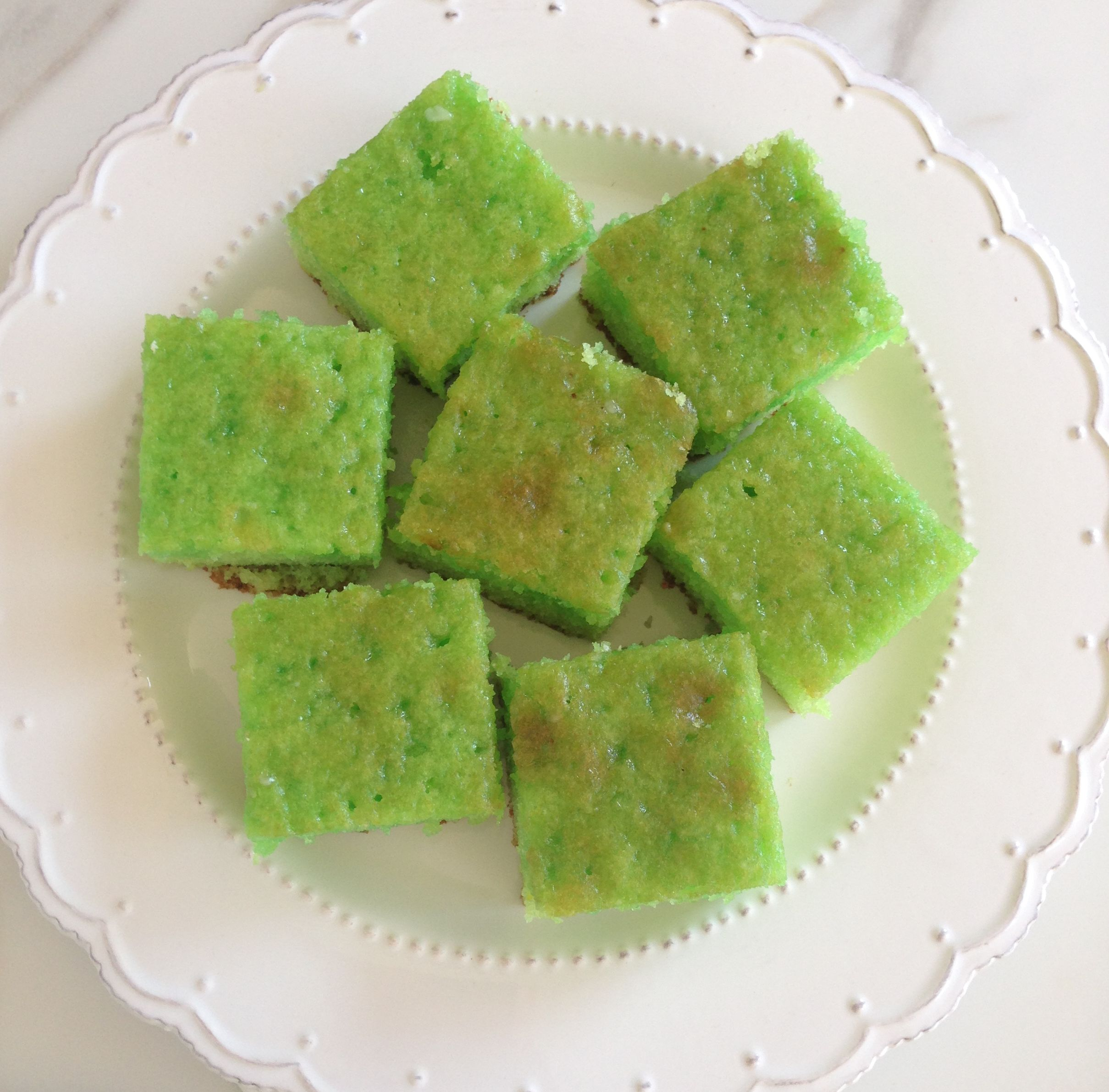Key Lime Cake with Limeade Glaze Recipe – Happy St. Patty's Day!