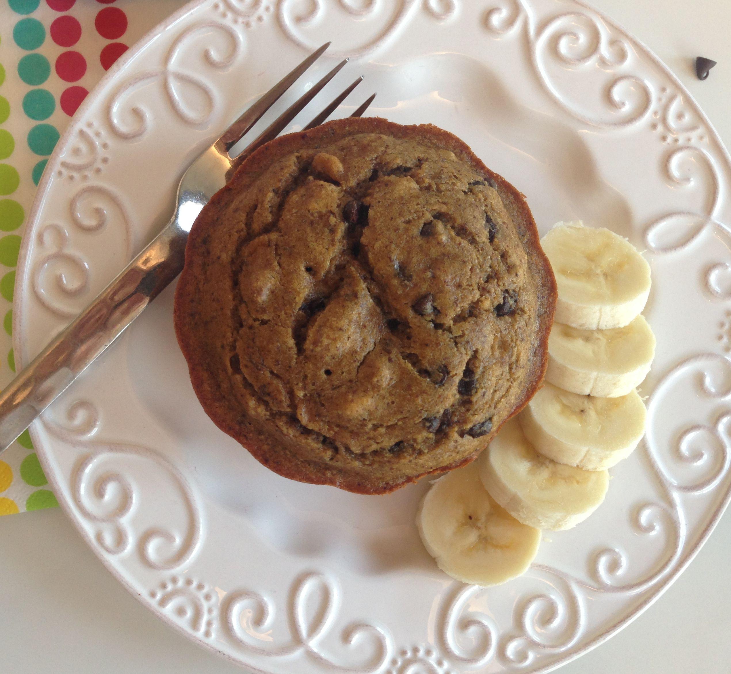 Chocolate Chip Banana Bundt Cake