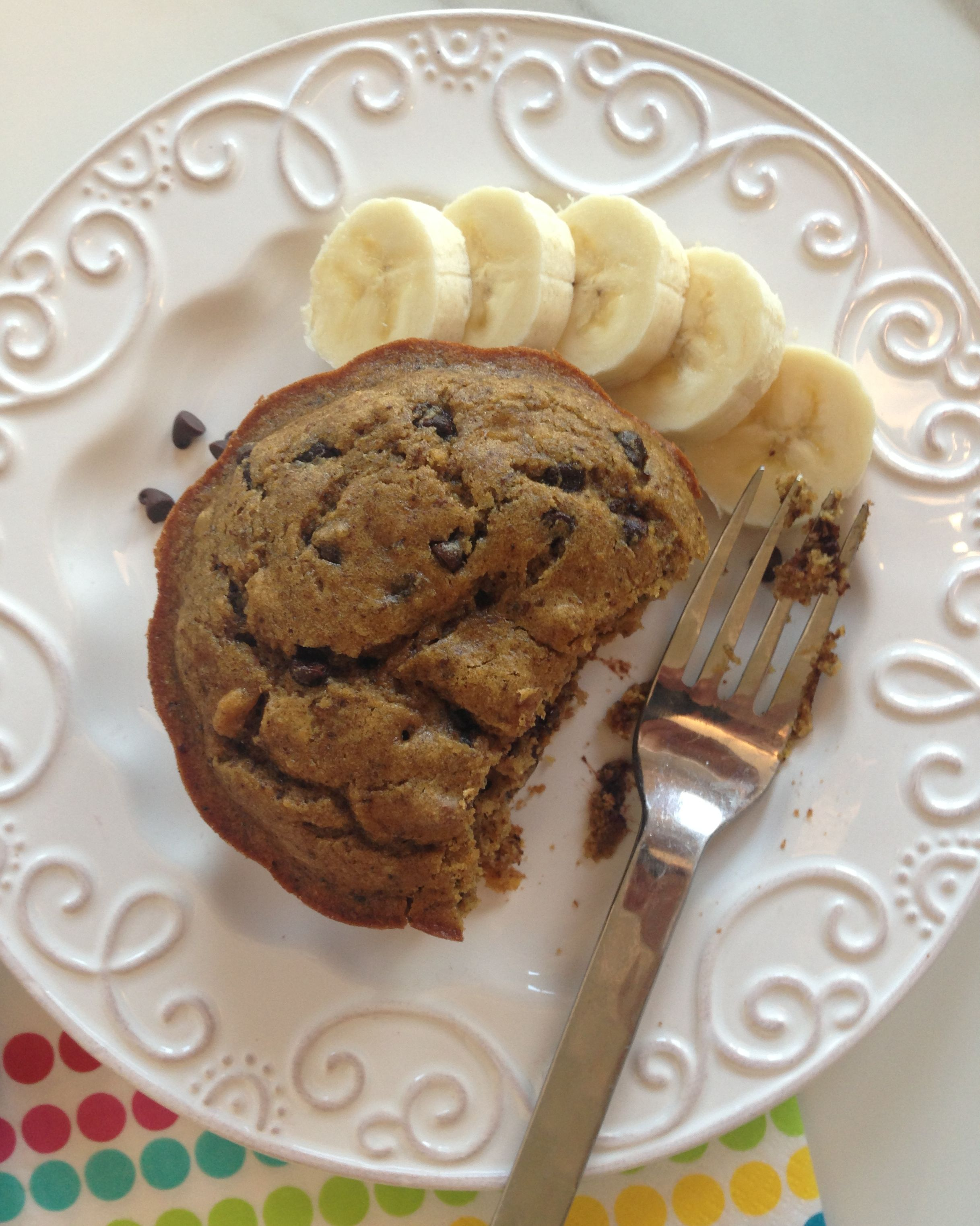 Chocolate Chip Banana Bundt Cake Recipe