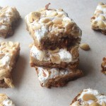 Fluffernutter Cookie Bars