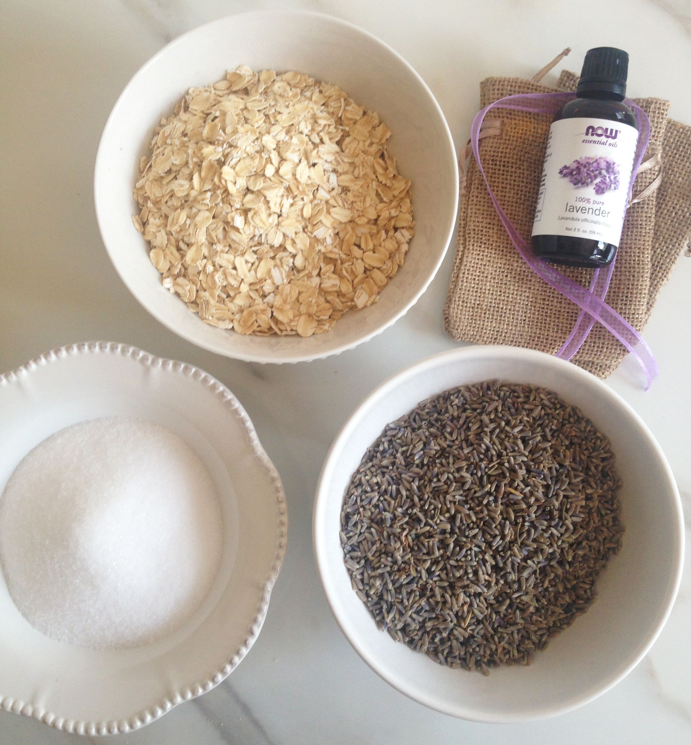 Lavender Sea Salt Scrub Diy: Homemade Lavender Salt Scrub