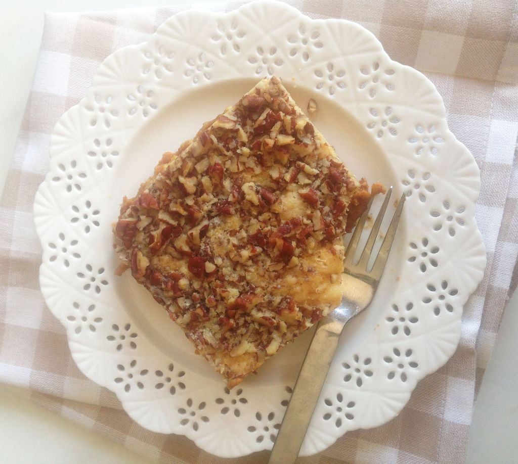 pumpkin upside down cake mix cake pecans streusel 1 (5)