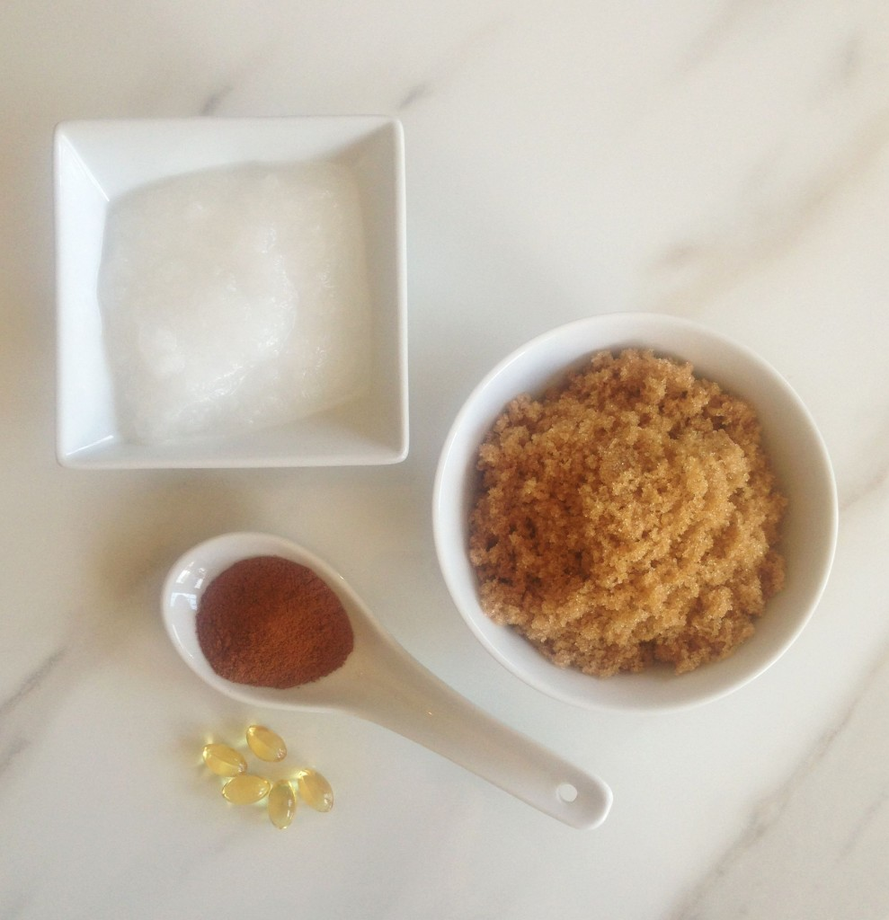 Coconut Oil pumpkin spice Brown Sugar homemade diy body scrub (11)