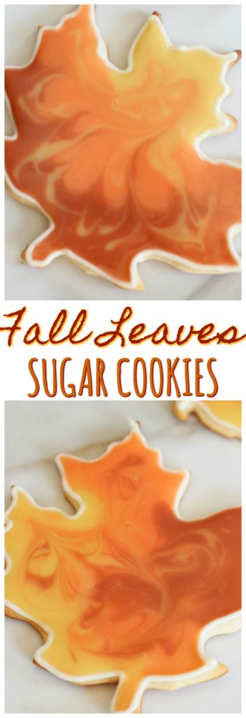 Fall Leaves Sugar Cookies pin 1