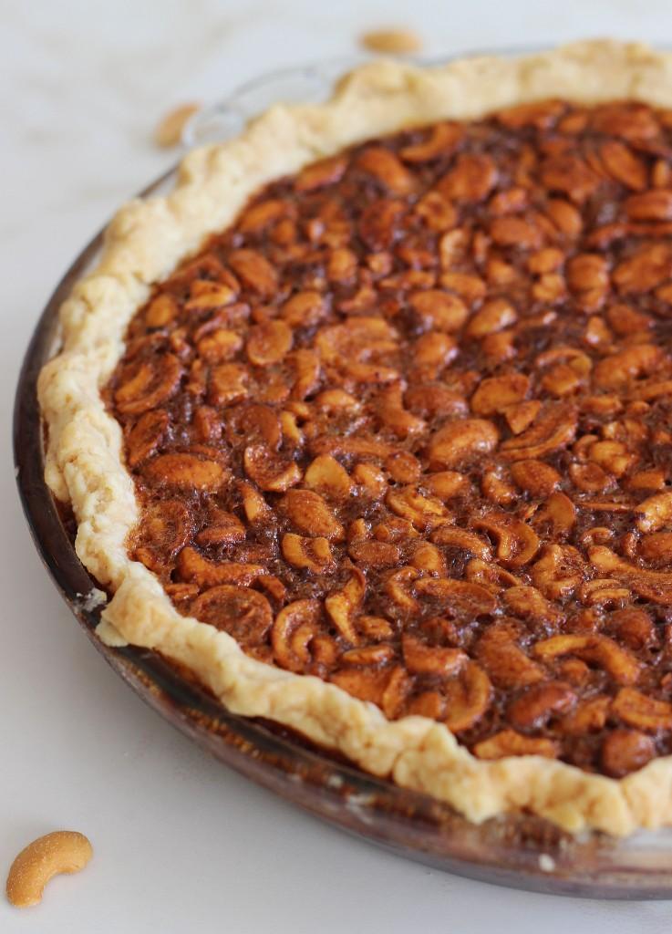 deep dish cashew pie 2