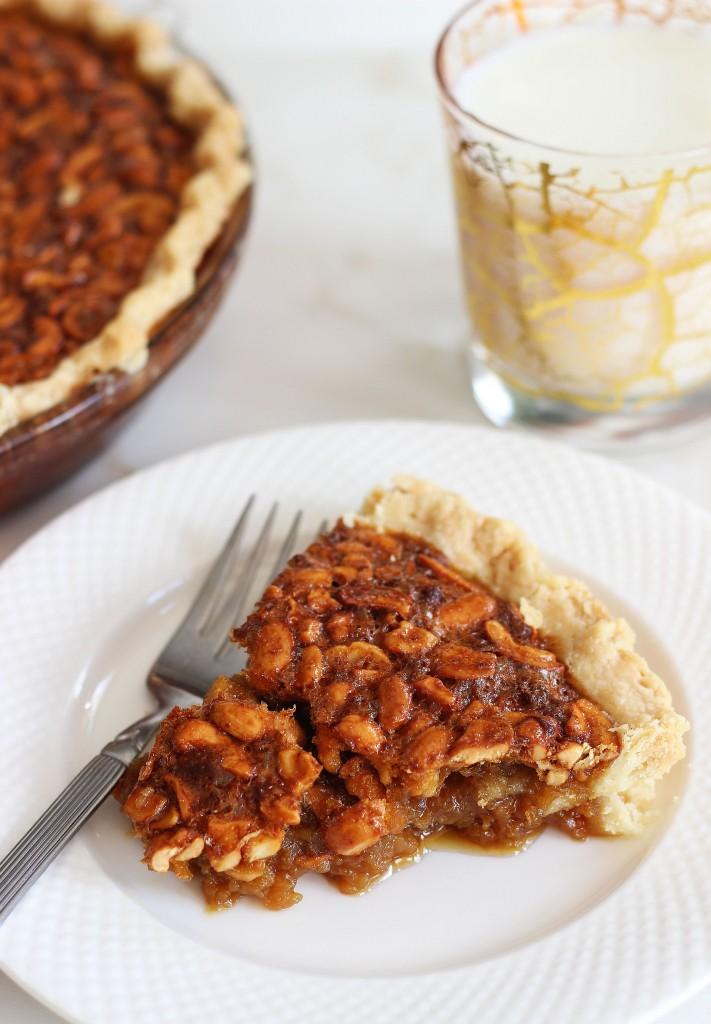 deep dish cashew pie 3
