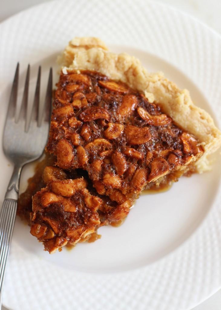 deep dish cashew pie 6