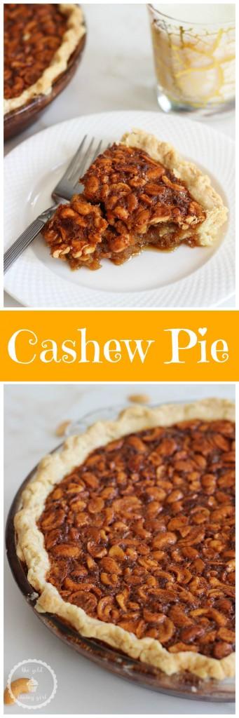 deep dish cashew pie pin