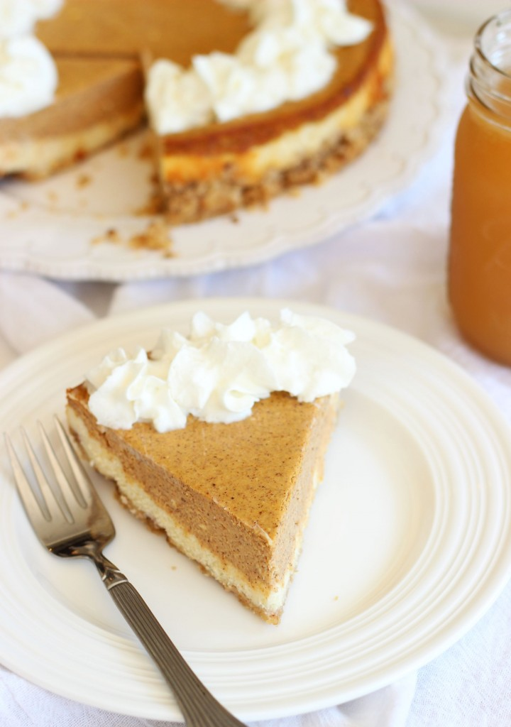 double layer pumpkin cheesecake spice with shortbread pecan crust 1 (10)
