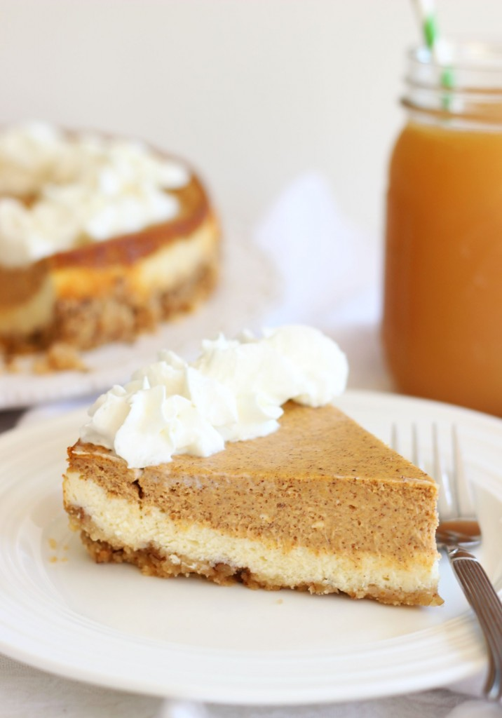 double layer pumpkin cheesecake spice with shortbread pecan crust 1 (9)