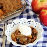 Apple and Tart Cherry Crisp