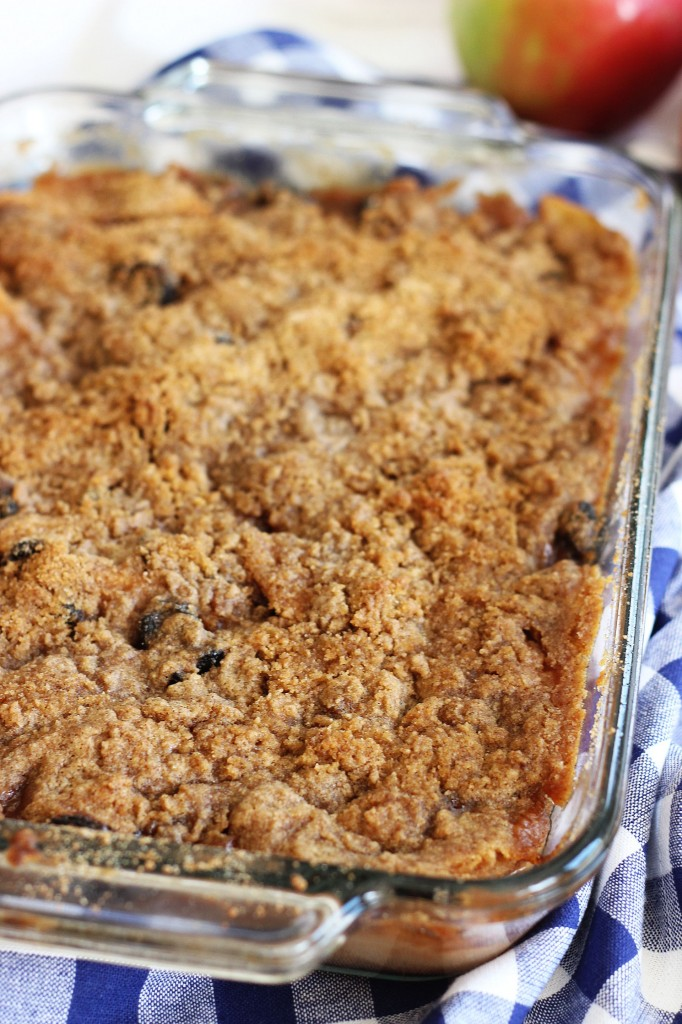 granny smith apple crisp with tart sour cherries 2