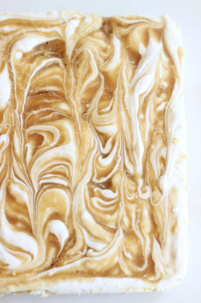 homemade marshmallows malted caramel swirl marshmallows (4)