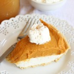 Double Layer Pumpkin Cheesecake – 2 Ways! Part 2 – The No Bake Version.