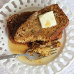 Pumpkin Banana Bread French Toast