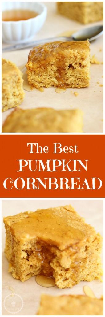 pumpkin cornbread pin