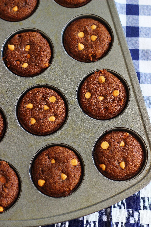Pumpkin Honey Butterscotch Muffins