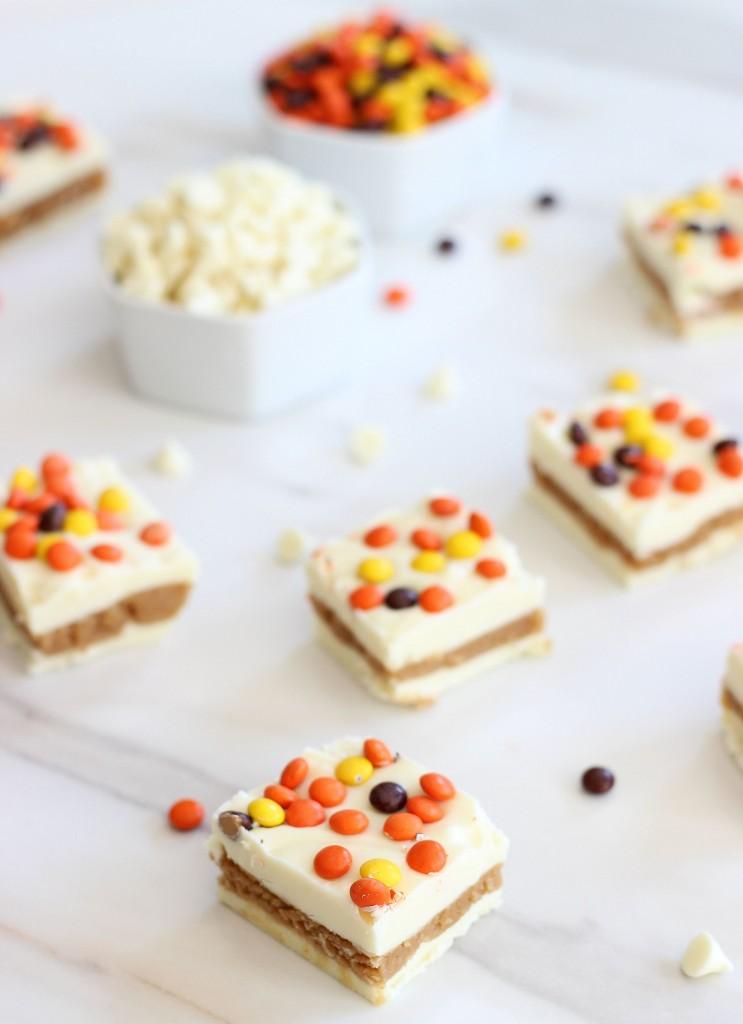 white chocolate peanut butter truffle bars 6