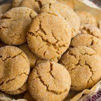 Cracked Top Ginger Cookies {VIDEO!}