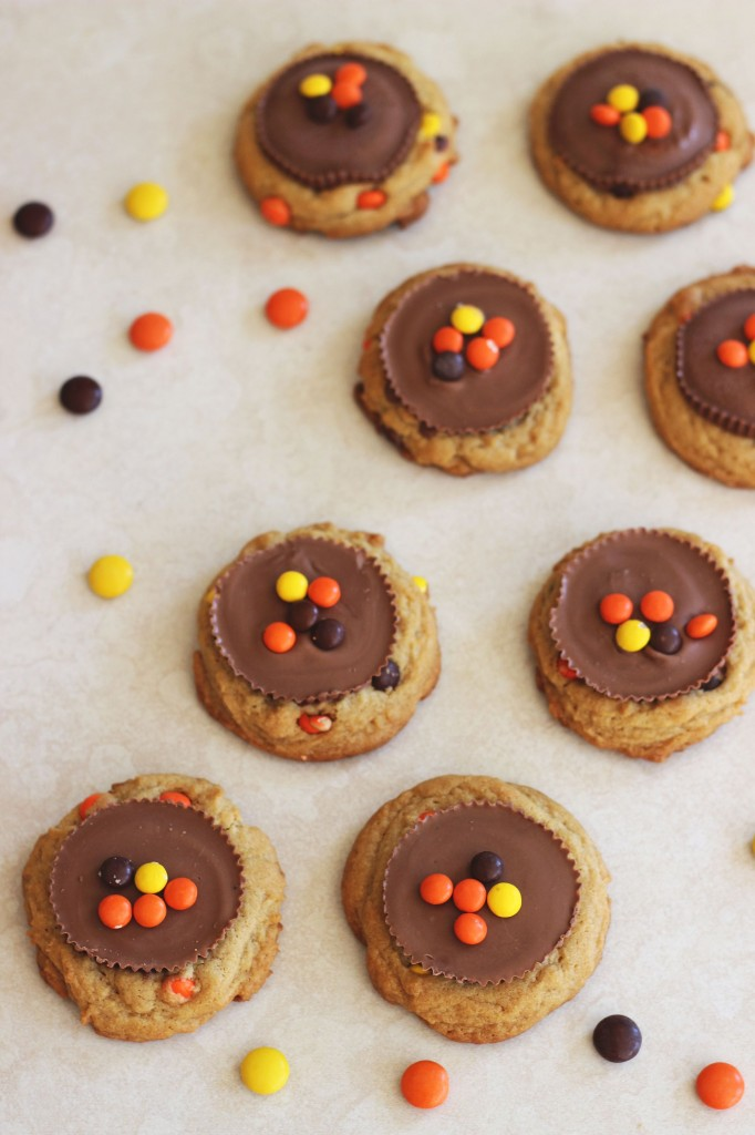 Reese's peanut butter cup cookies 1