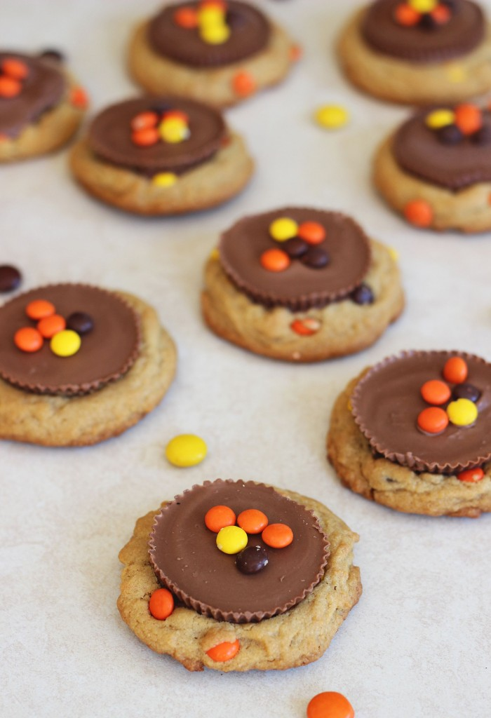 Reese's peanut butter cup cookies 13