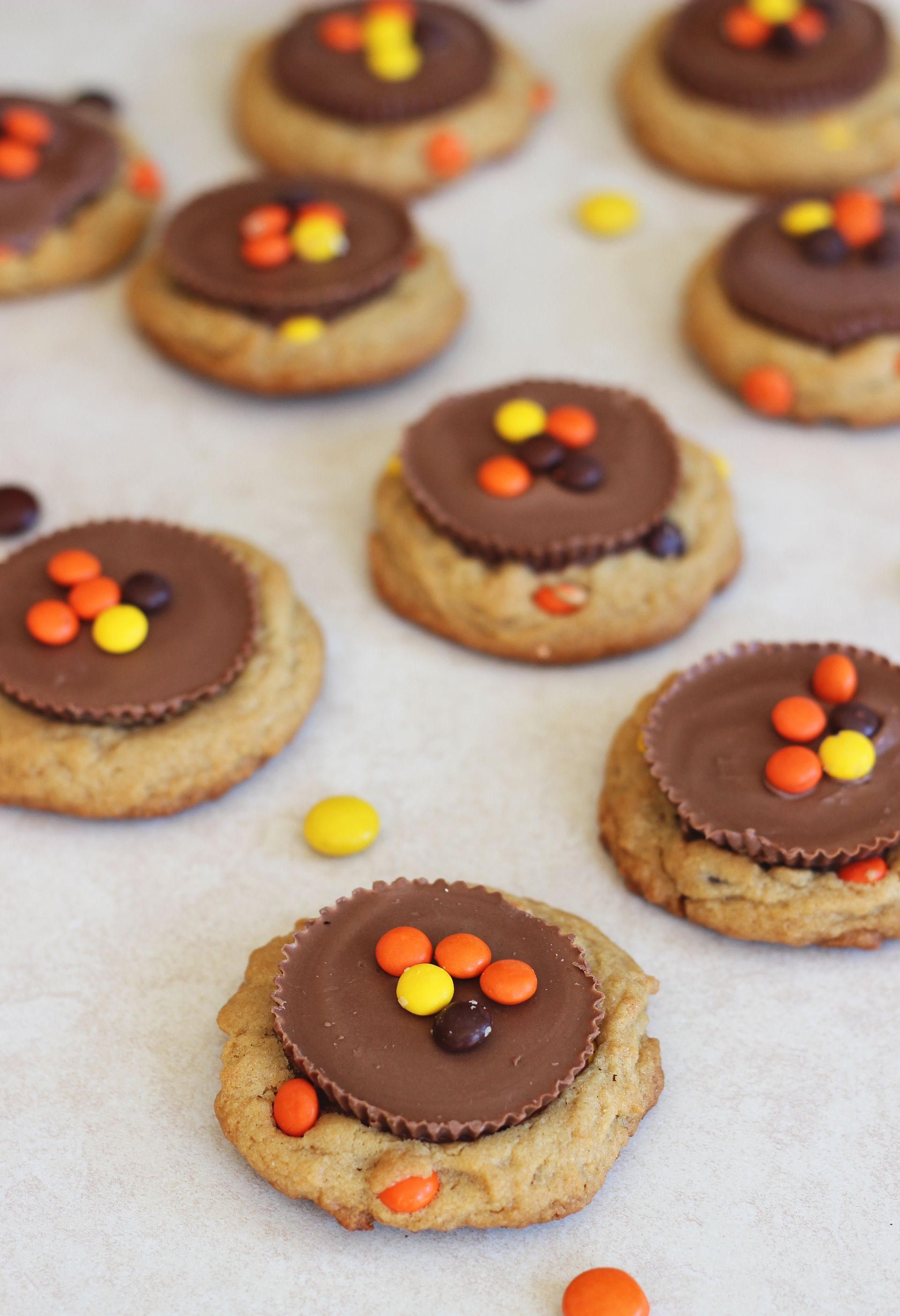 Reese's Peanut Butter Cup & Reese's Pieces Cookies