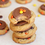 Reese's peanut butter cup cookies 16