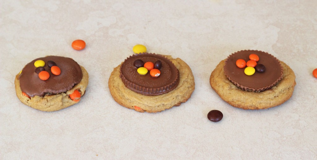 Reese's peanut butter cup cookies 6