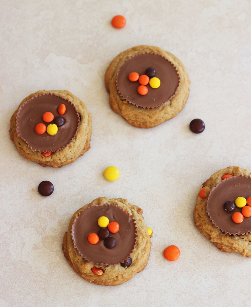 Reese's peanut butter cup cookies 8