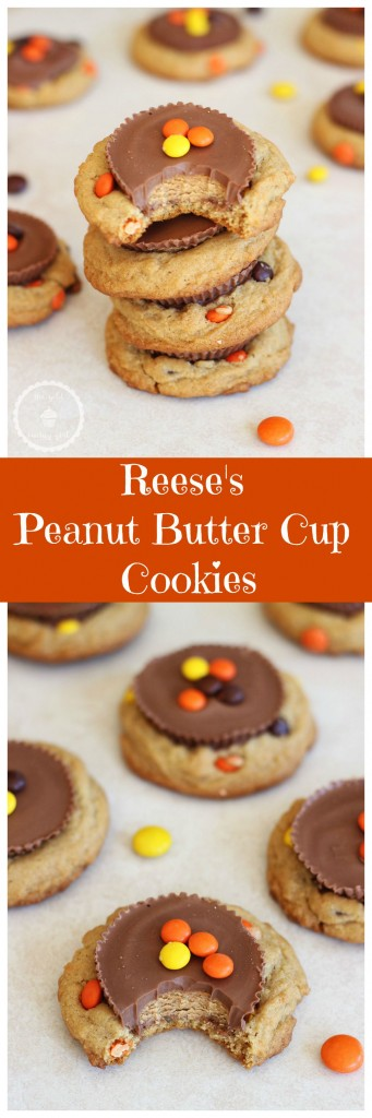 Reese's peanut butter cup cookies pin
