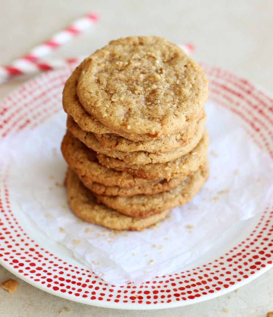 chewy cashew butter toffee cookies 2