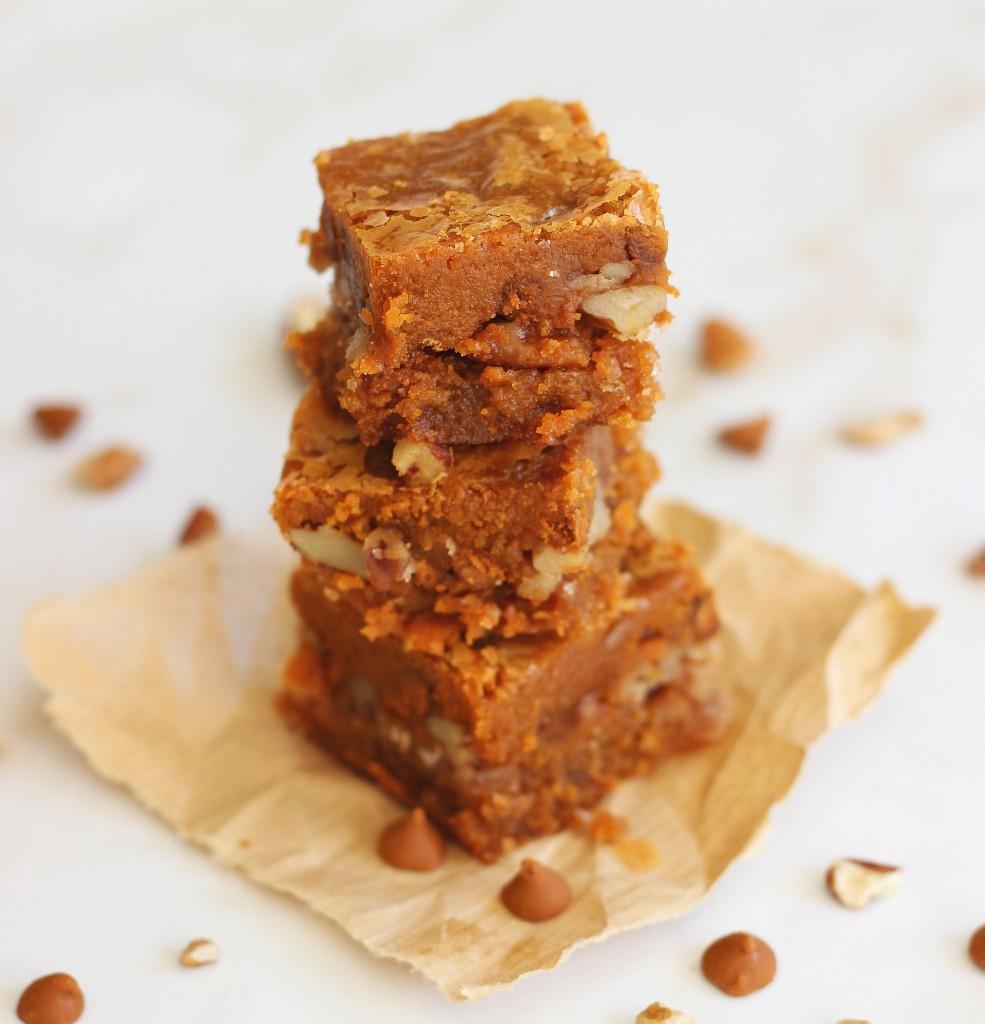 cinnamon chip blondies brown sugar pecan streusel 5