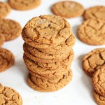 Cracked Top Ginger Cookies