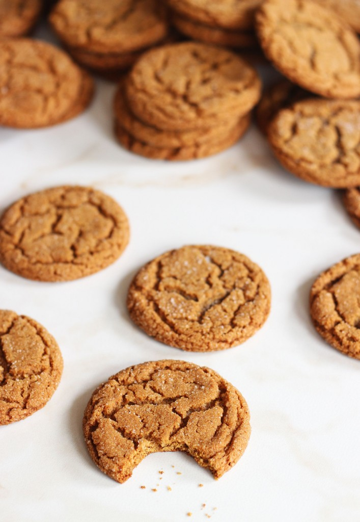 cracked top ginger cookies 8