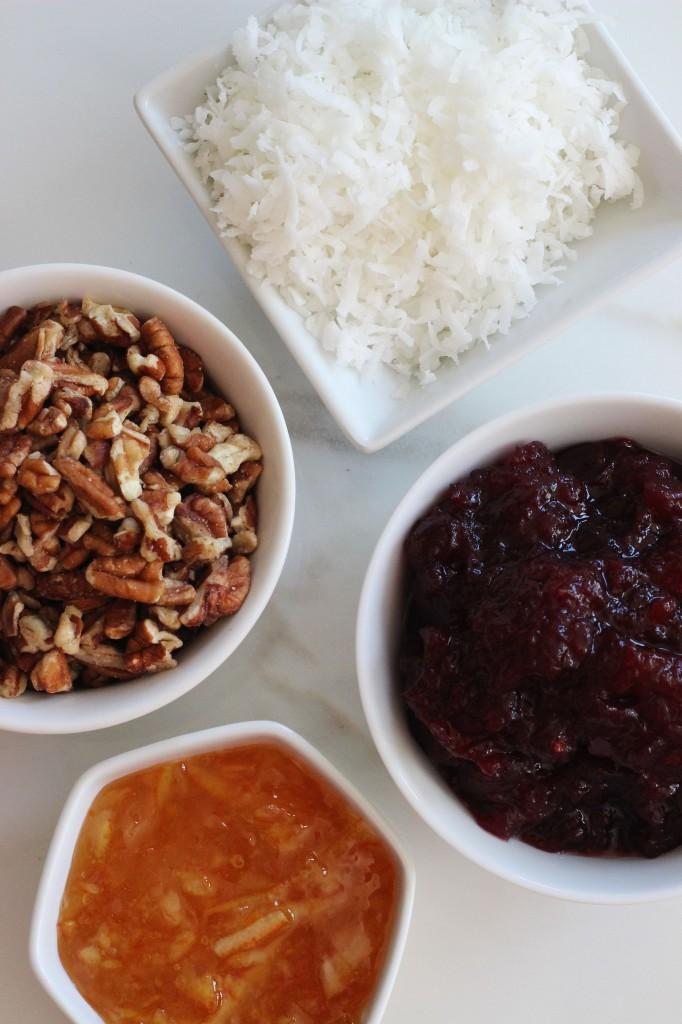 cranberry orange oatmeal streusel breakfast bars 2