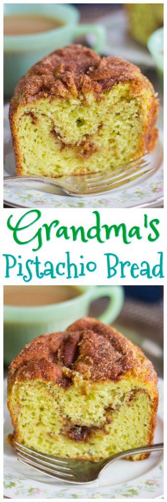 Grandma's Pistacho Bread pin 1