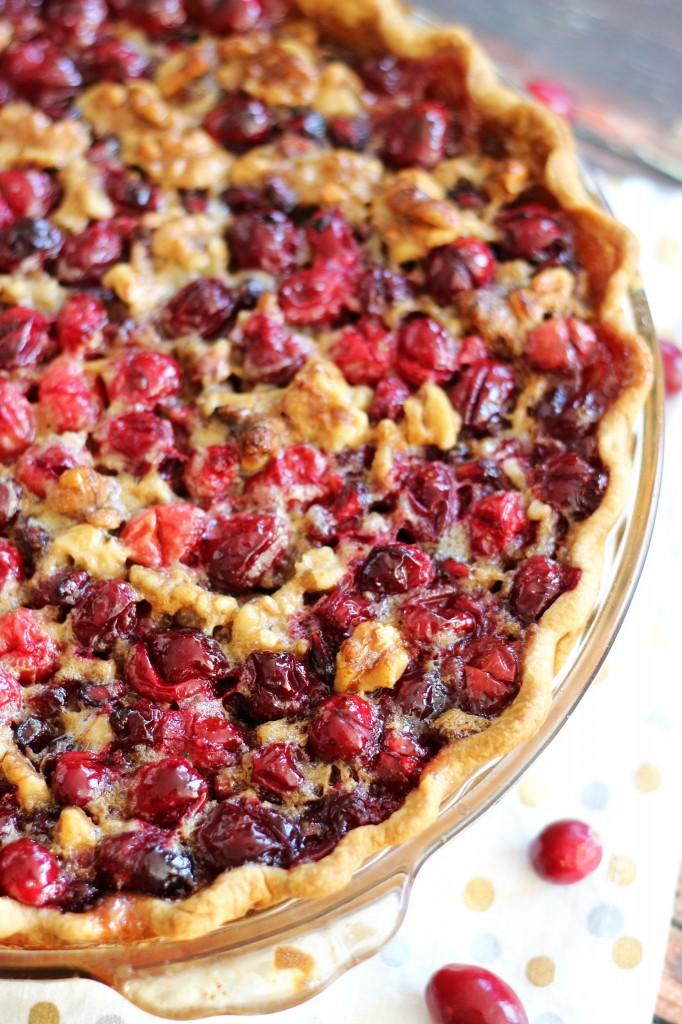 cranberry pomegranate walnut pie 11