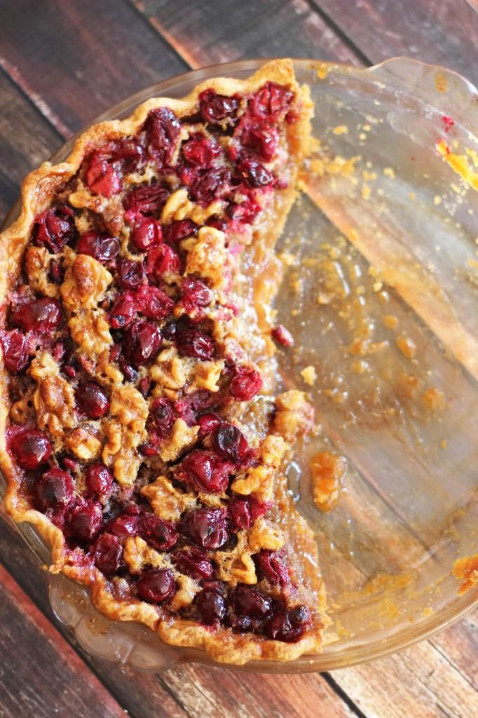 cranberry pomegranate walnut pie 13