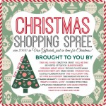 Christmas Shopping Spree Giveaway! $500 Visa Gift Card!