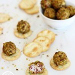 Cranberry and Pistachio Goat Cheese Truffles