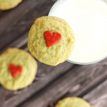 pistachio pudding grinch cookies 13