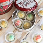 Red Velvet and Green Velvet Cake Truffles